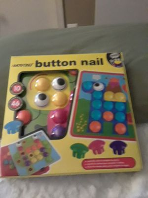 Button Nail Art Craft Game for Sale in Frederick, MD