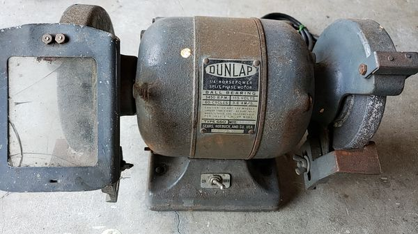 Phenomenal Dunlap 1 4 Hp Split Phase Electric Bench Grinder For Sale In Gmtry Best Dining Table And Chair Ideas Images Gmtryco