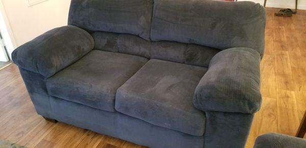 Ashley blue loveseat sofa (Furniture) in Las Vegas, NV - OfferUp