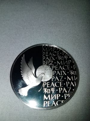 1973 Sterling Silver Peace Medal for Sale in Philadelphia, PA