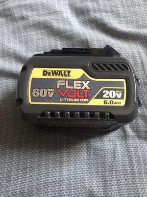 New battery 20 volts. 6.0 flex Dewalt for Sale in Washington, DC