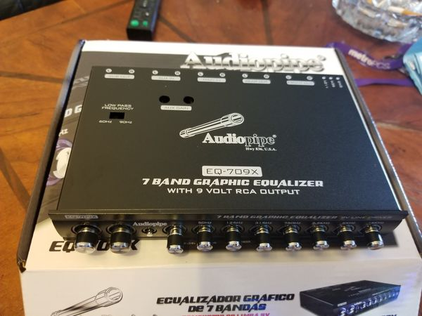 7 band AUDIOPIPE EQUALIZER (I have 5 left) for Sale in Bronx, NY - OfferUp