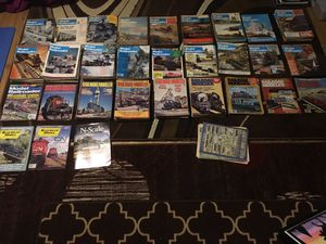 Over 140 model railroad magazines from the 60s, 70s and 80s for Sale in Parkville, MD