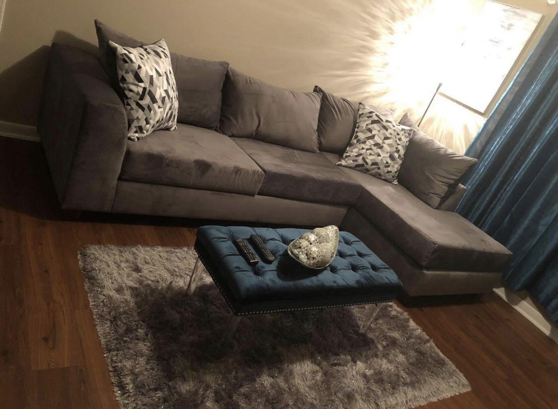 New Oversized Sectional
