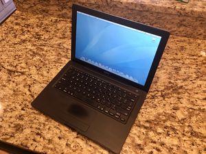 Apple MacBook Black Color Model A1181.Upgraded New OWC. Mercury Electra 6G SSD 120Gb intel Core 2 Duo 2GHz 2Gb Mac OS X Leopard for Sale in Ashburn, VA
