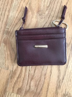 Liz Claiborne burgundy small wallet/ coin purse for Sale in North Potomac, MD