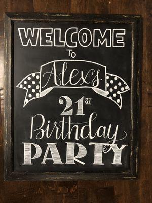 Custom chalkboard signs for Sale in Phoenix, AZ