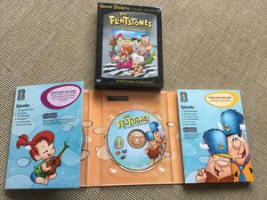 Classic Collection 4 DVD MOVIES / 24 episodes of the Flinstones Great Fun !!! 😄😆😜 for Sale in Lincolnia, VA