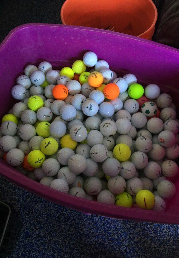 Golf balls starting at 25 cents a ball
