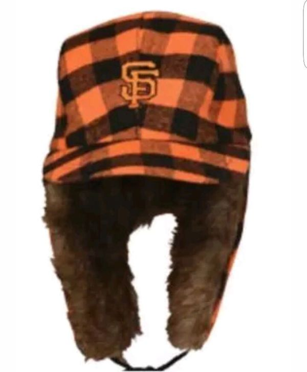 San Francisco Giants two flaps down winter hat for Sale in San Jose ... 8dc02a17187