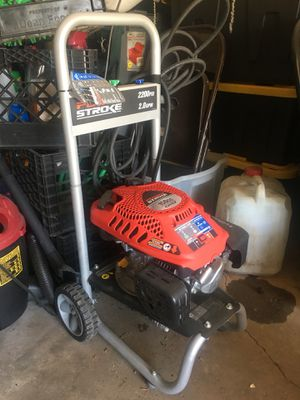 2200 psi gas pressure washer for Sale in Washington, DC