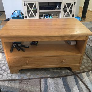 Coffee table - wood for Sale in Sterling, VA