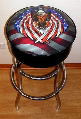 American Flag and Eagle Bar Stool! New! for Sale in Orland Park, IL