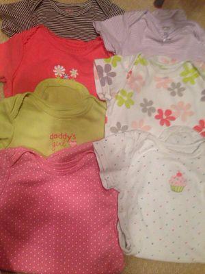 7 onesies baby girl 18 months for Sale in Arlington, VA