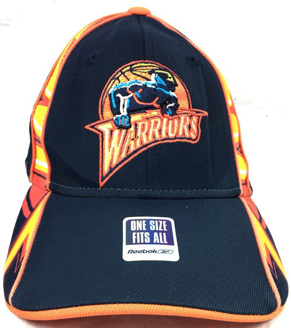 New Vintage Reebok NBA Golden State Warriors Fitted Dad Hat OSFA for ... fb208c31bce