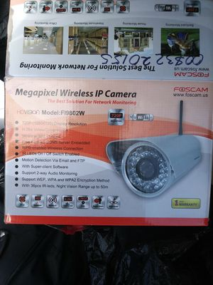 Two foscam wireless cameras for Sale in Washington, DC