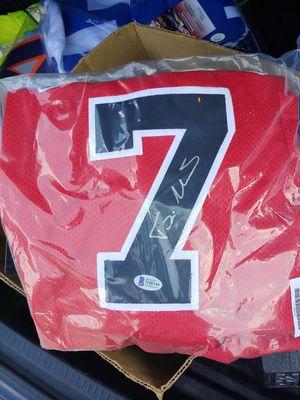 Photo Signed Toni kokoc jersey, played with Michael jordan