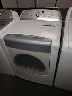 Whirlpool Electric Top Load Set Washer And Dryer In Great Condition Thumbnail