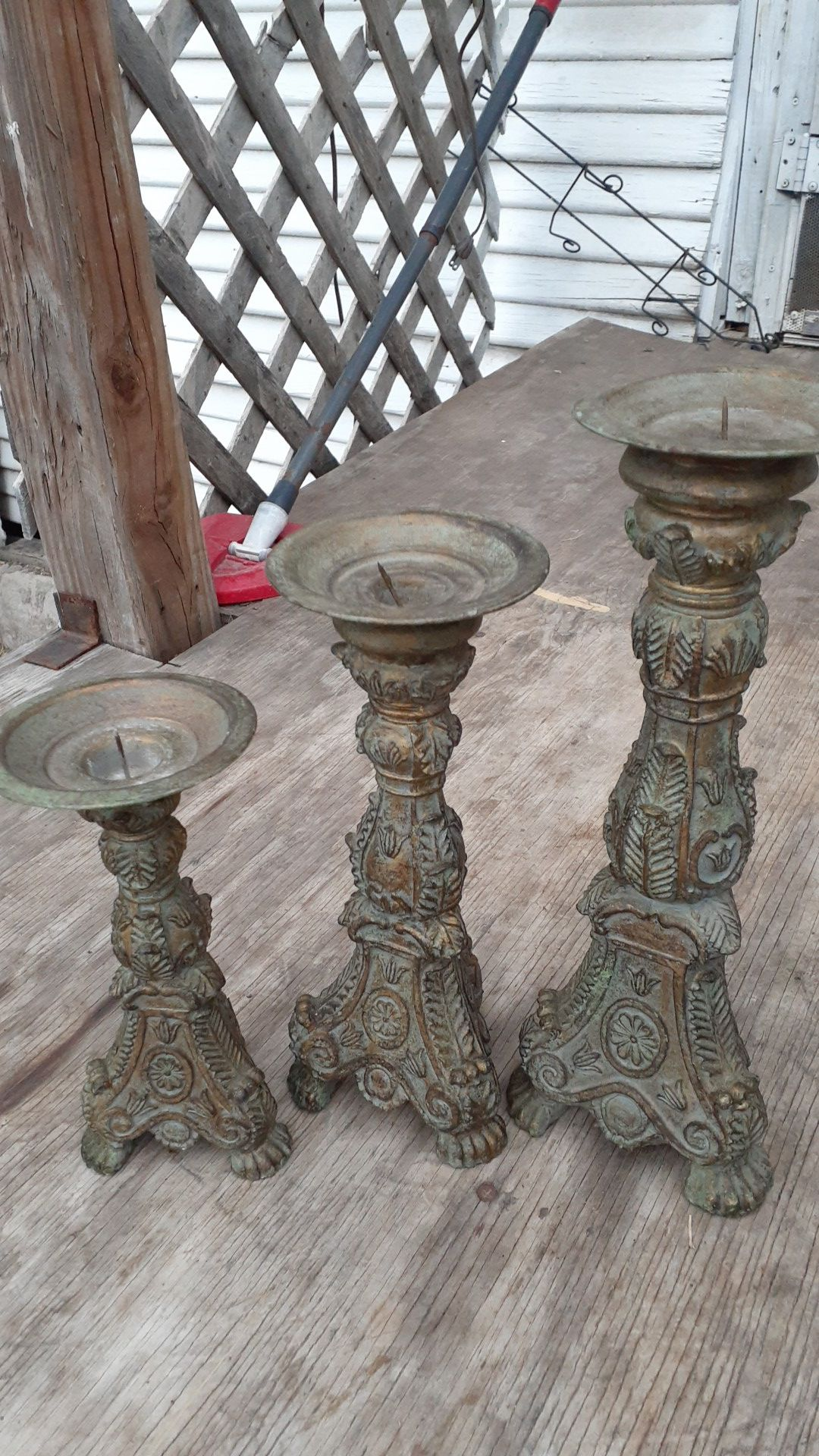 Heavy Candle holders