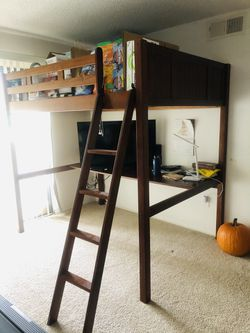 Bunkbed with study table Thumbnail