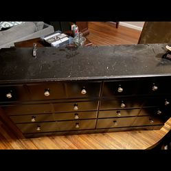 6 Drawer Dresser W/ Mirror Thumbnail