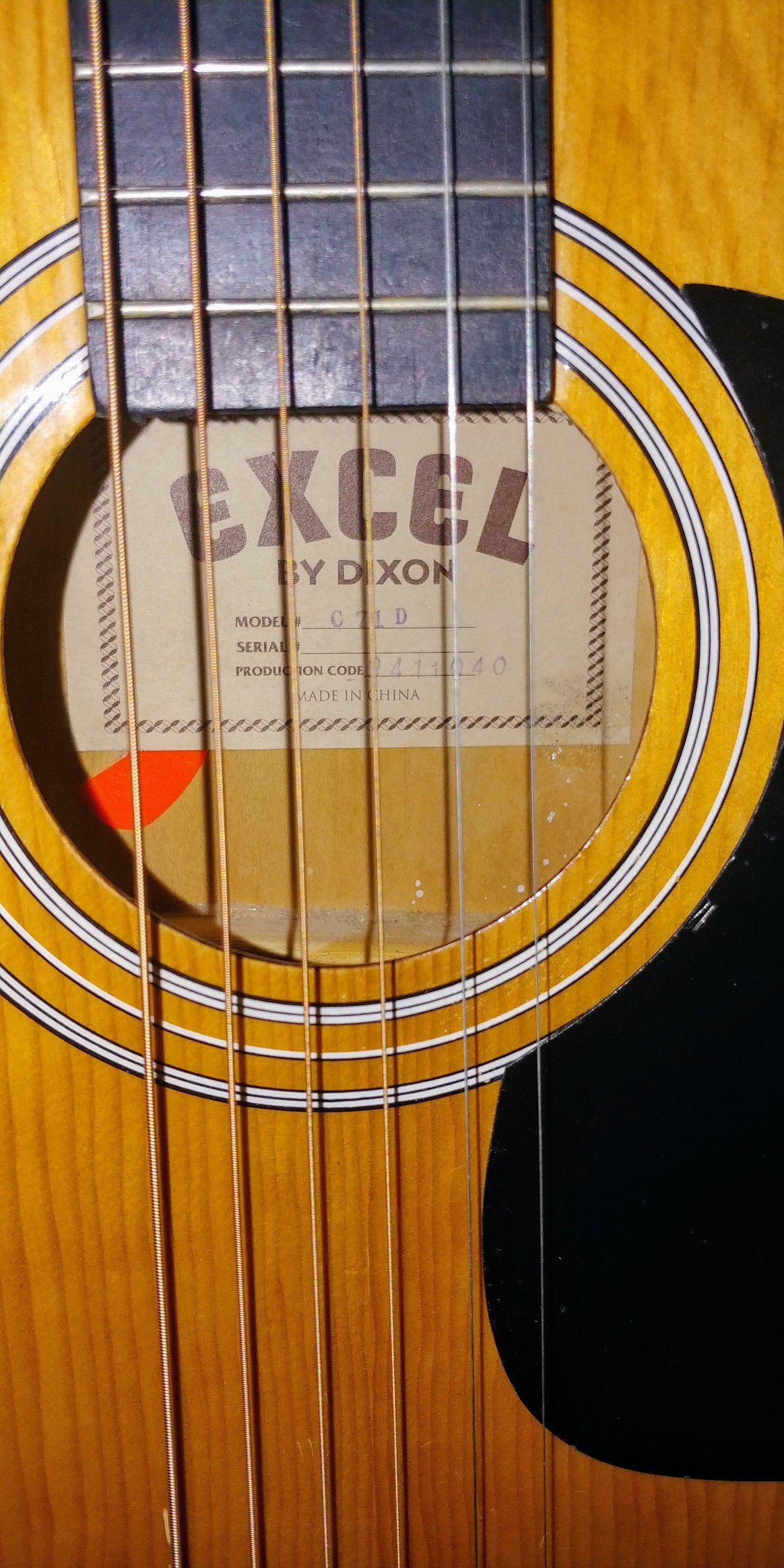 Guitar Excel by Dixon Model #C71D