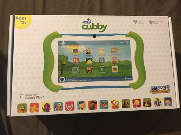 Sprout channel cubby tablet for Sale in Los Angeles, CA - OfferUp