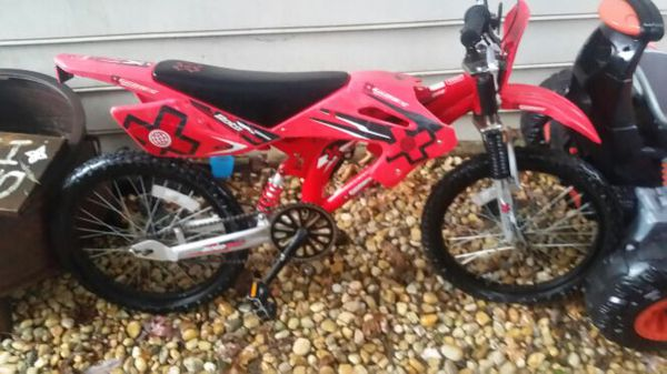 Rare X Games motocross BMX bike