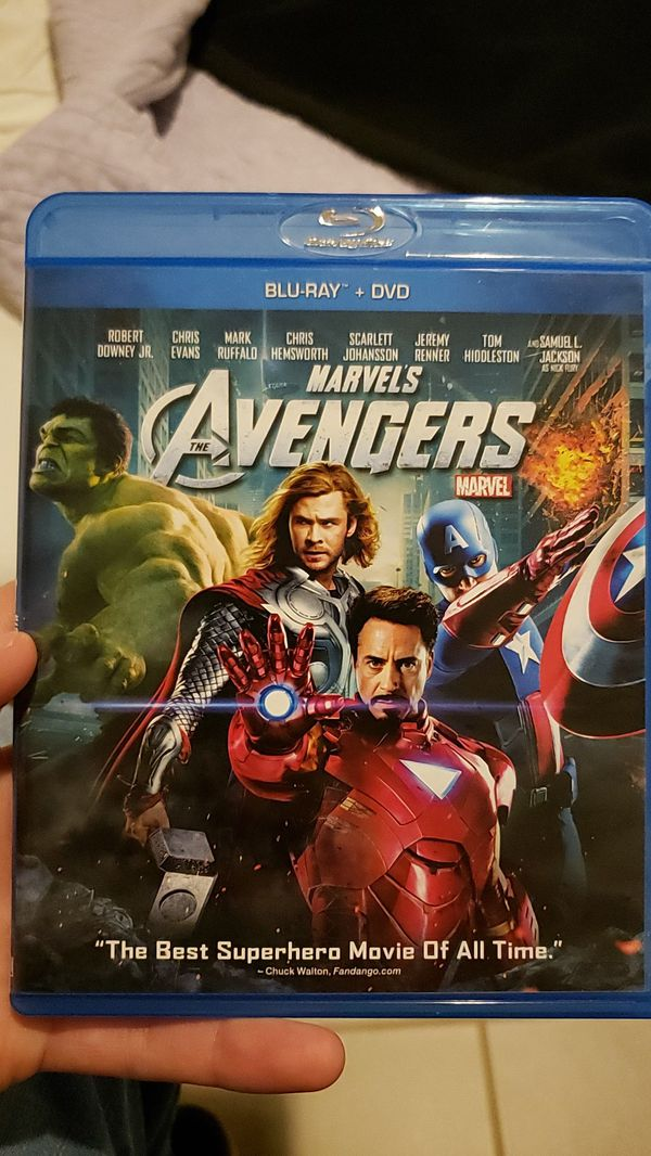Marvel's Avengers (Blu-ray, DVD combo) for Sale in Baytown, TX - OfferUp