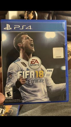 Fifa 18 never used for PS4 Thumbnail