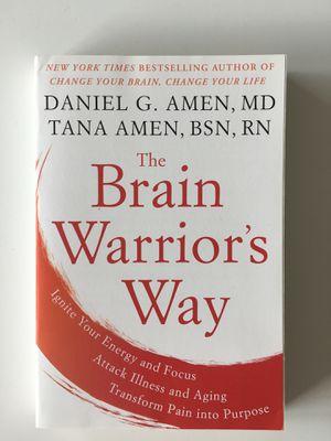 The Brain Warrior's Way - Daniel Amen for Sale in Baltimore, MD