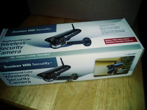 New Bunker Hill Wireless Weatherproof Color Security Wireless Camera