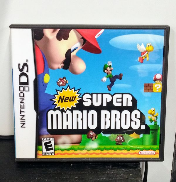 super mario brothers ds