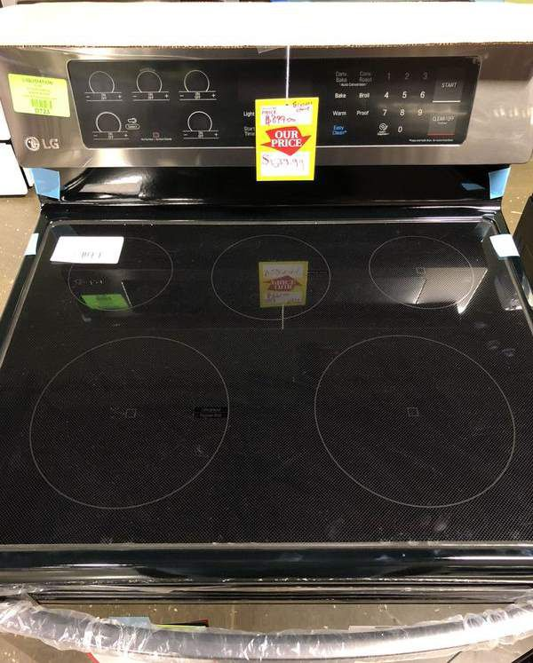 LG Electric Stove (Model:LRE3061BD) XCX