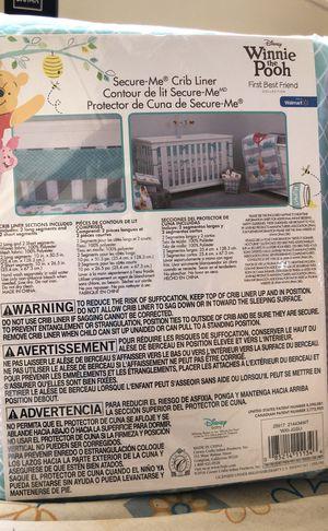Disney Pooh Best Friends Secure Me Crib Liner for Sale in Mount Rainier, MD