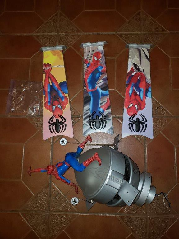 Spiderman ceiling fan for sale in glendale az offerup aloadofball Gallery