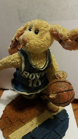 BOYDS BEARS and FRIENDS BASKETBALL RABBIT Thumbnail