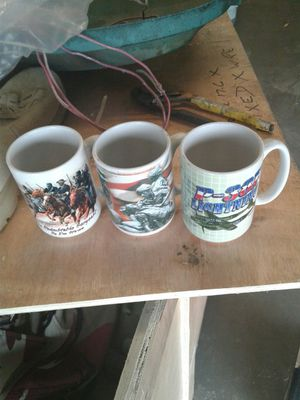 Coffee mugs full color Armed Forces for Sale in Orlando, FL