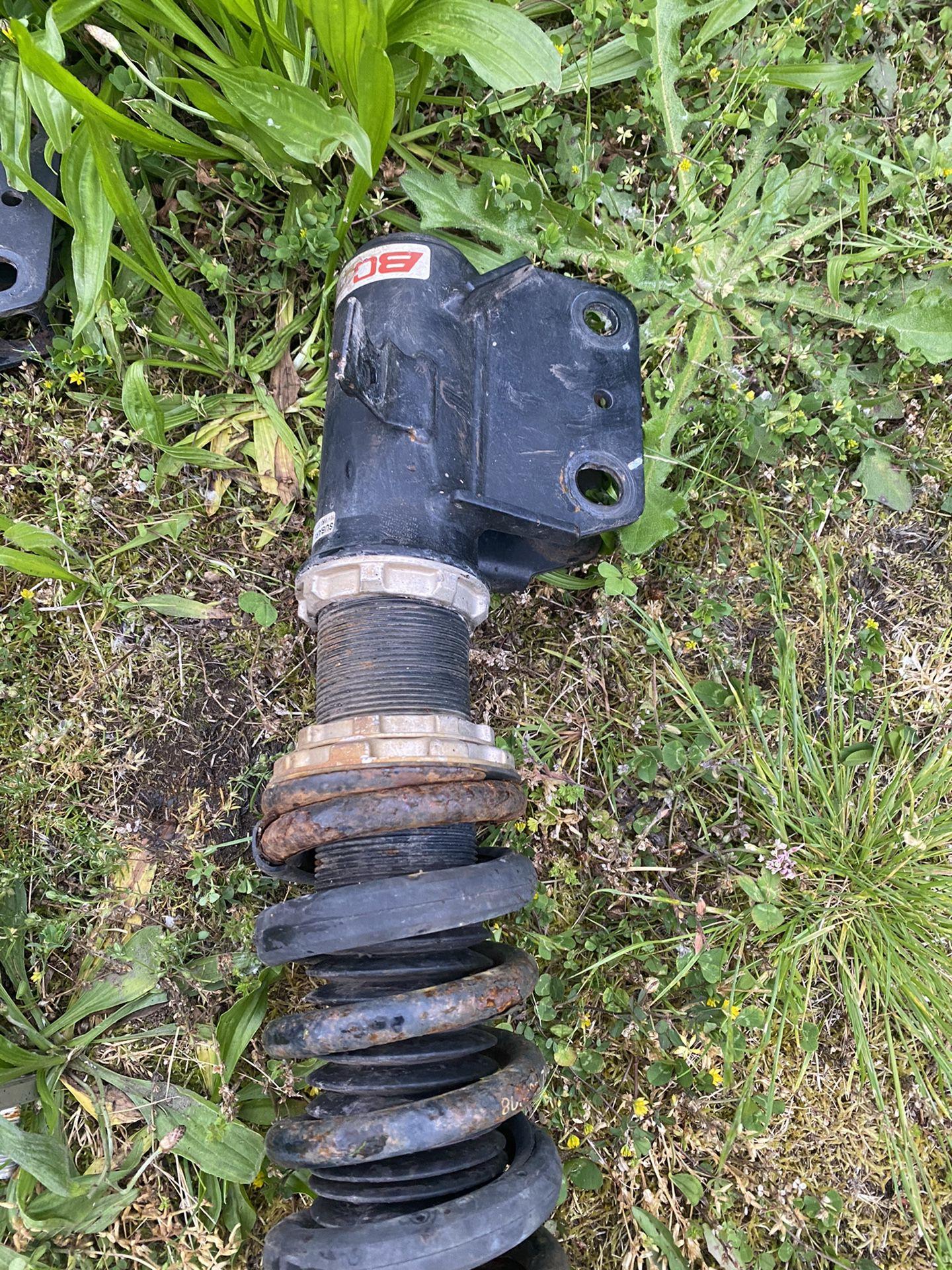 Subaru wrx coil lowers