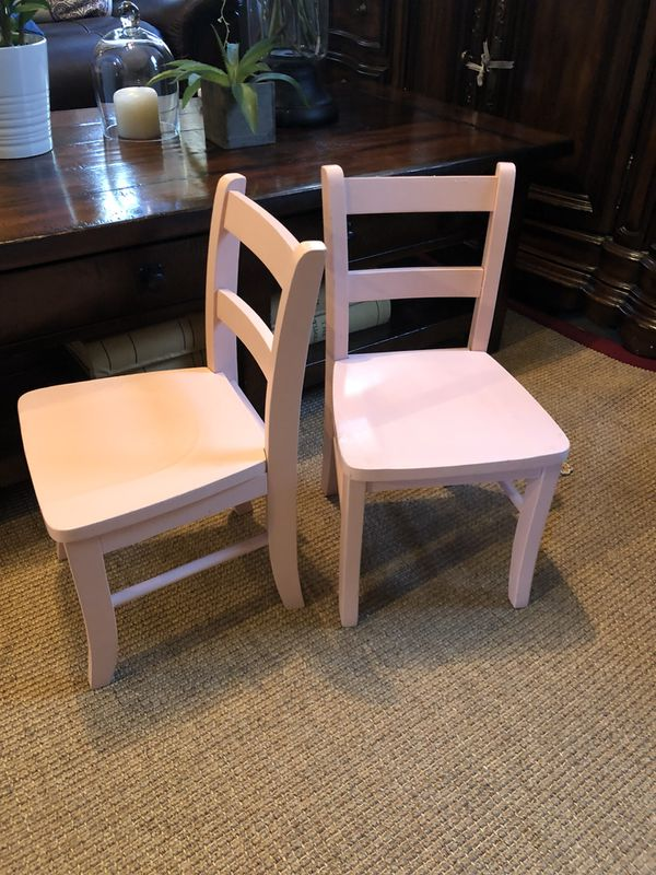 pottery barn kids my first chairs simply pink for sale in north