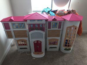 Barbie interactive dream house for Sale in Franconia, VA