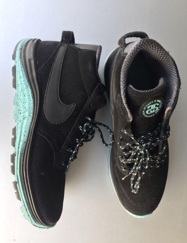 6cf33937aeba Nike Stussy Collab Sneakers Lunar Braata Mid OMS for Sale in ...