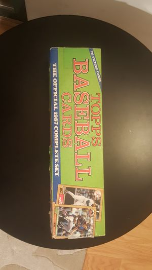 Topps 1987 complete set. New unopened. for Sale in Baltimore, MD