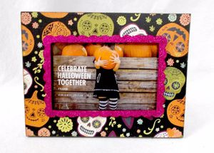 Halloween Celebrate Together Day Of The Dead Glittered Wooden Picture Frame for Sale in Union City, CA