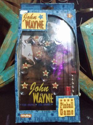 Photo John Wayne Rare Pinball Game