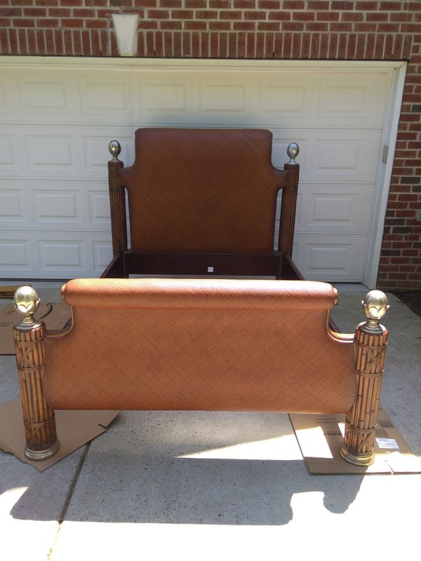 Thomasville Furniture Ernest Hemingway Kilimanjaro Kenyan Collection Bed Dresser And Side Nightstand Table For Sale In Apex Nc Offerup