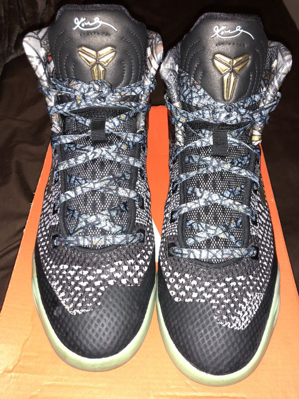 "sports shoes e4269 e3d8a PRE-OWNED NIKE KOBE 9 IX ELITE (GS) ""ALL STAR"" SZ 5Y"