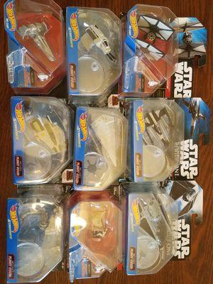 Star Wars Hot Wheel ships for Sale in Graham, WA