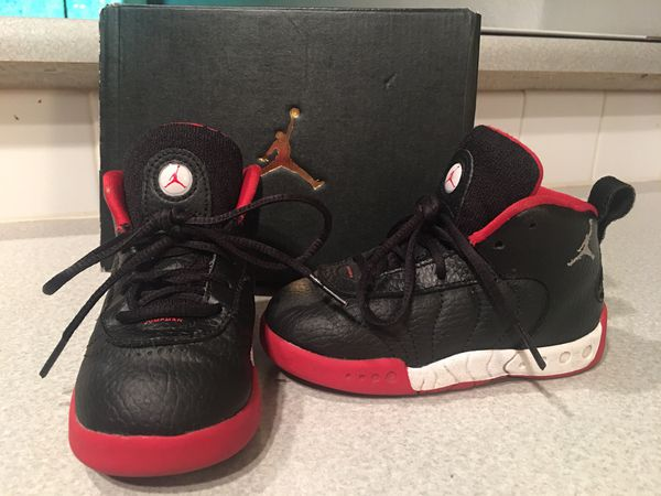 buy online 2ec75 af30a Kids Toddler Jordan Jumpman Pro BT Size 8C Boys Girls Shoes Sneakers for  Sale in Kent, WA - OfferUp