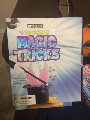 Game Magic Tricks For Kids Brand New for Sale in National City, CA